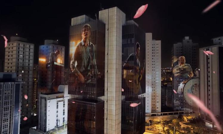 Belo Horizonte brilhando no novo clipe do Skank
