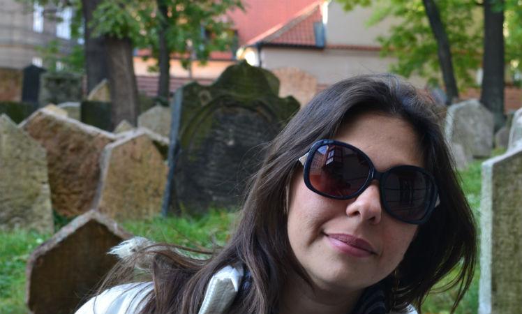 Visita ao cemitério Judeu