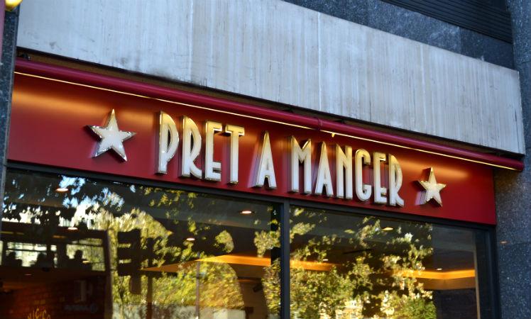 Onde comer bem e barato em Londres: Pret a Manger